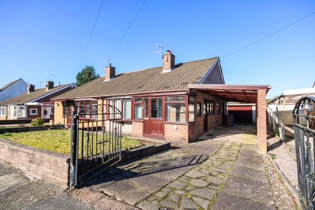 2 bed semi-detached bungalow for sale in Trentway Close, Bucknall, Stoke-On-Trent ST2