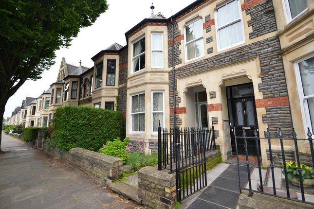 Thumbnail Terraced house to rent in Hamilton Street, Pontcanna, Cardiff