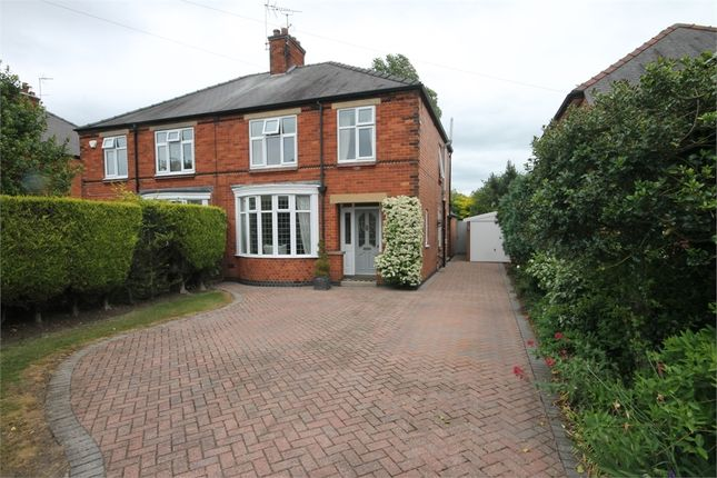 Thumbnail Semi-detached house for sale in Hawton Road, Newark, Nottinghamshire.