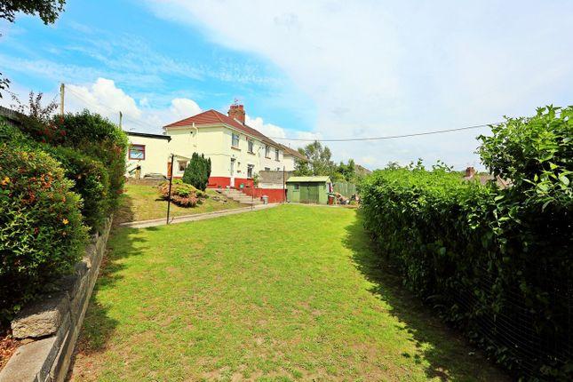 Thumbnail Semi-detached house for sale in Ty Gwyn Road, Church Village, Pontypridd