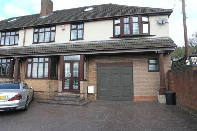 Thumbnail Semi-detached house for sale in Portway Road, Rowley Regis