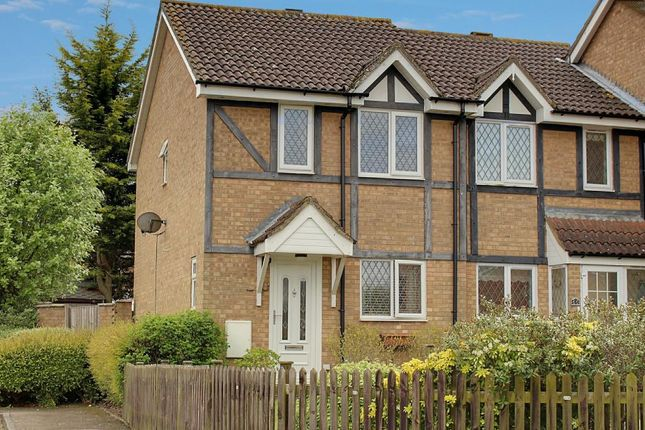 Thumbnail End terrace house for sale in Shearwater Close, Stevenage