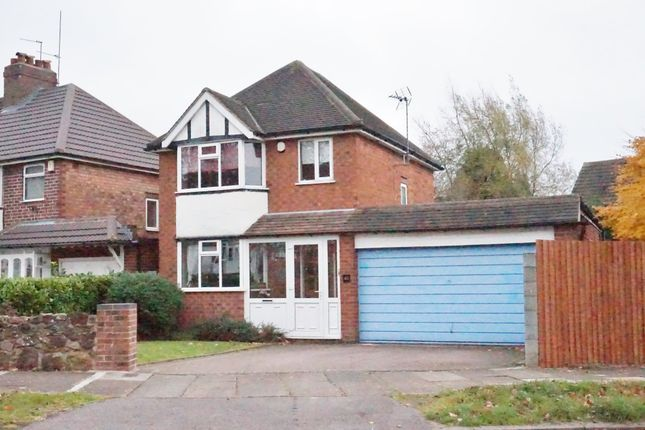Thumbnail Detached house for sale in Woodcote Road, Birmingham