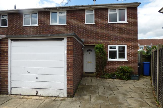 Thumbnail End terrace house for sale in Romsey Close, Blackwater, Camberley