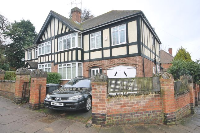 Thumbnail Semi-detached house for sale in Elmfield Avenue, Stoneygate, Leicester