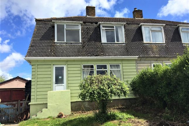 Thumbnail Semi-detached house to rent in Godolphin Crescent, Godolphin Cross, Helston