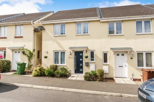 Thumbnail Terraced house to rent in Bridge View, St. Budeaux, Plymouth