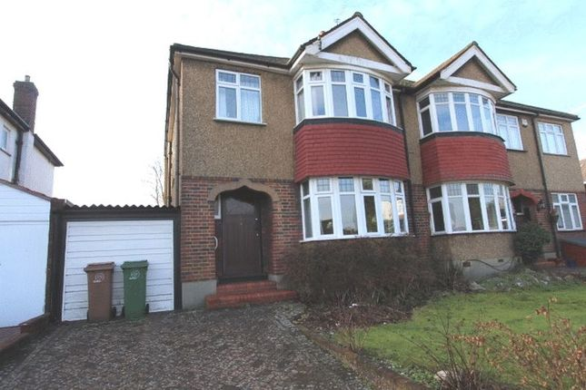 Thumbnail Semi-detached house for sale in Warren Park Road, Sutton