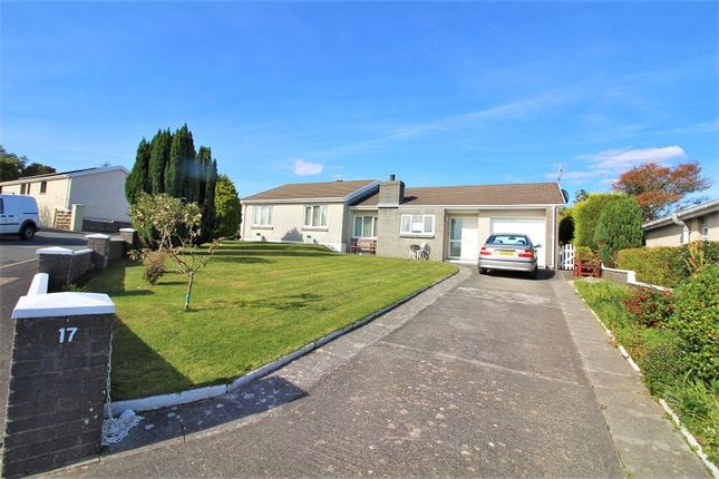 Thumbnail Detached bungalow to rent in Hazel Grove, Llanstadwell, Milford Haven, Pembrokeshire.