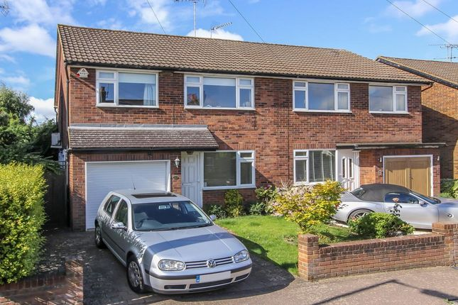 Thumbnail Semi-detached house to rent in Kingcroft Road, Harpenden, Hertfordshire