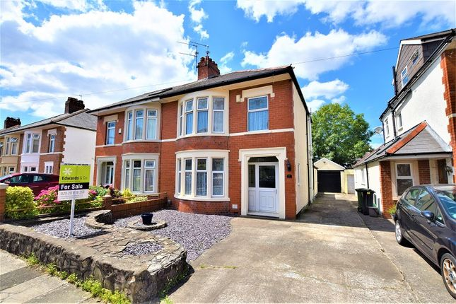 Thumbnail Semi-detached house for sale in 51 St. Gowan Avenue, Heath, Cardiff.