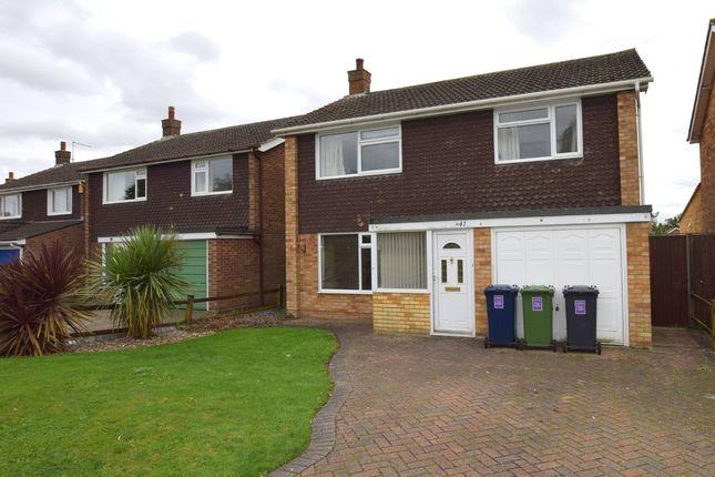 Thumbnail Detached house to rent in Horseshoes Way, Brampton, Huntingdon