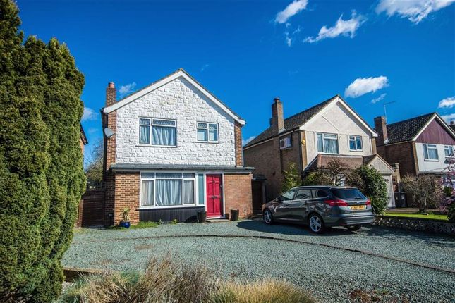 Thumbnail Detached house for sale in Cowper Crescent, Bengeo, Herts