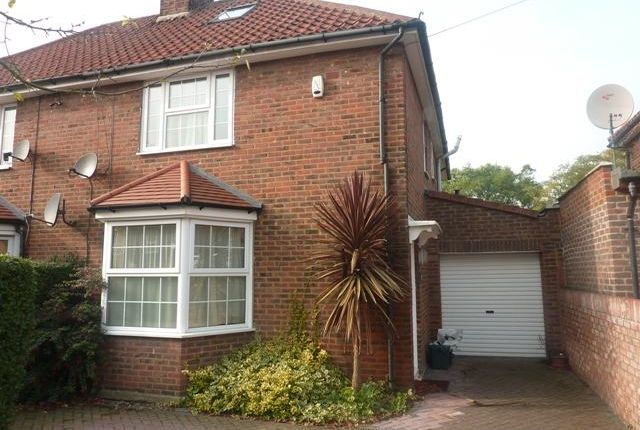 Thumbnail Semi-detached house to rent in Saxon Drive, West Acton