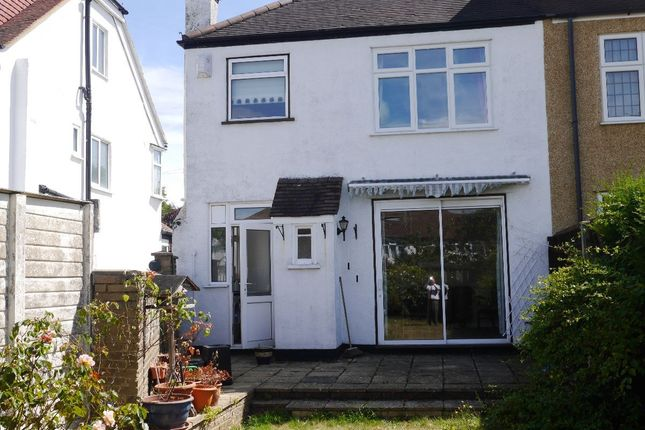 Thumbnail 3 bed semi-detached house for sale in Braemar Gardens, West Wickham
