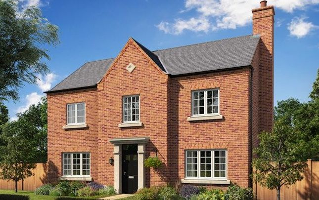 Thumbnail Detached house for sale in The Winster, Warmingham Lane, Middlewich, Cheshire