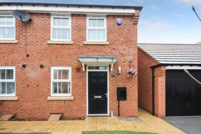Thumbnail Semi-detached house for sale in Fossview Close, Strensall, York