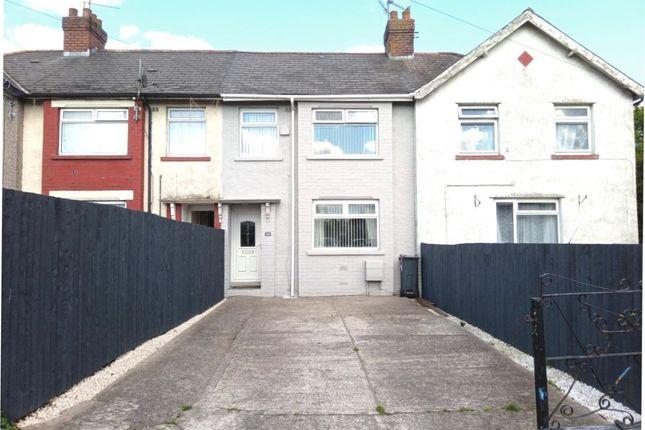 Thumbnail Terraced house for sale in Mona Place, Splott, Cardiff
