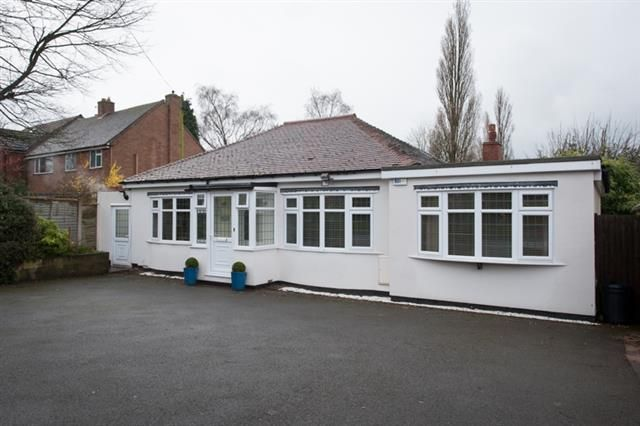 Thumbnail Detached bungalow for sale in Wood Lane, Streetly, Sutton Coldfield