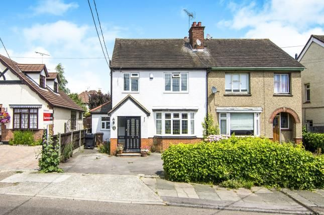 Thumbnail Semi-detached house for sale in Seventh Avenue, Broomfield, Chelmsford