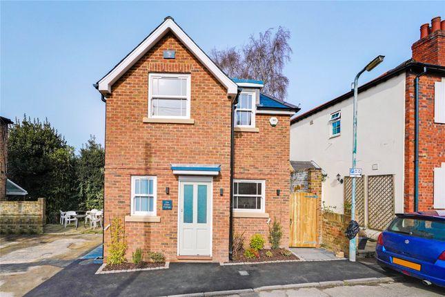 Thumbnail Detached house for sale in Cross Road, Weybridge, Surrey