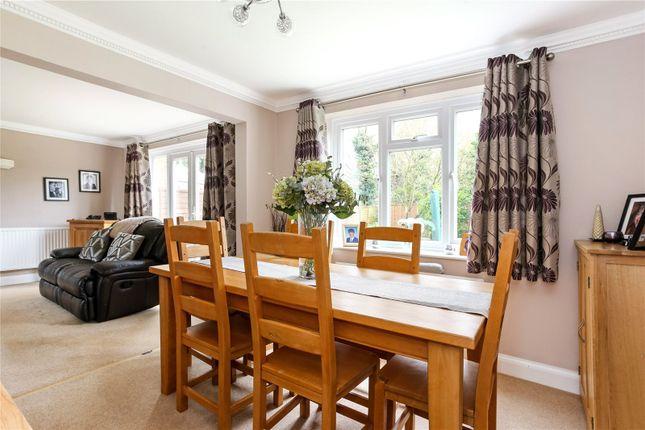 Dining Room of Netherhouse Moor, Church Crookham, Fleet, Hampshire GU51