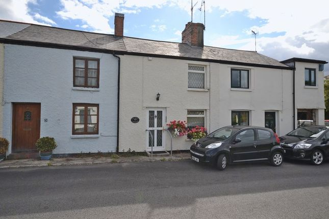 Thumbnail Terraced house for sale in Extended Cottage, Candwr Road, Ponthir