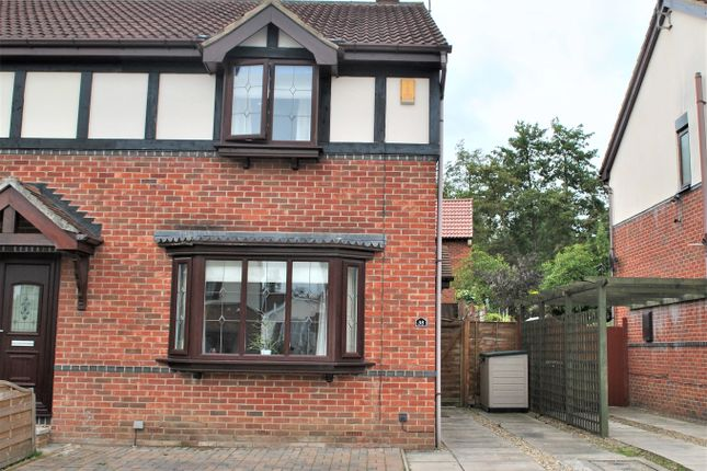 Thumbnail Semi-detached house to rent in Chesterton Court, Horbury, Wakefield