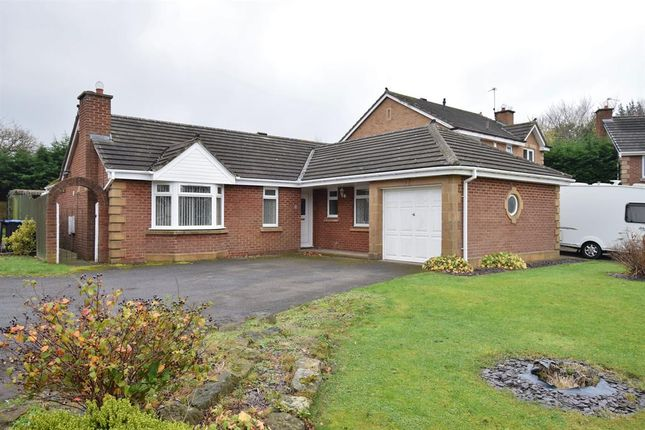 Thumbnail Detached bungalow for sale in St. Ives Close, Tollesby Hall, Middlesbrough