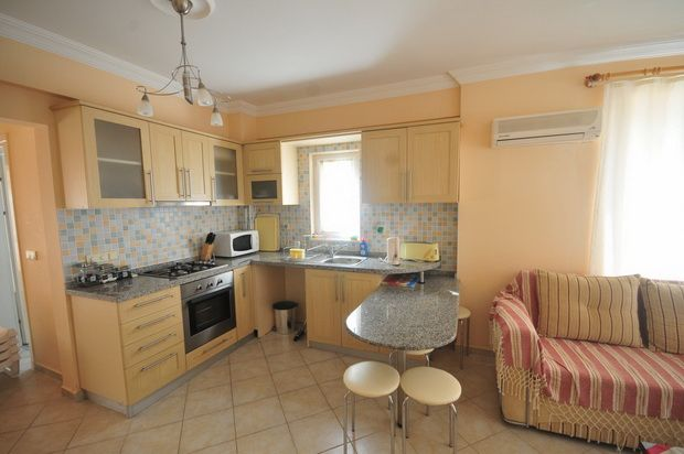 Kitchen of Yaniklar Holiday Village, Fethiye, Muğla, Aydın, Aegean, Turkey