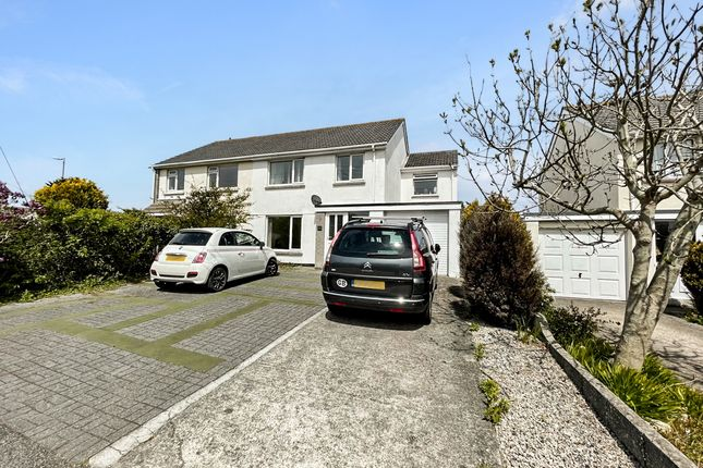 Thumbnail Semi-detached house for sale in Treloggan Road, Newquay