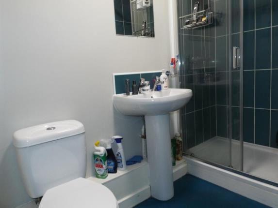 Shower Room of Avalon Court, Kent Street, Nottingham, Nottinghamshire NG1