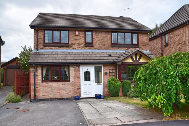 Thumbnail Detached house for sale in Dalegarth Grove, Lightwood, Stoke-On-Trent