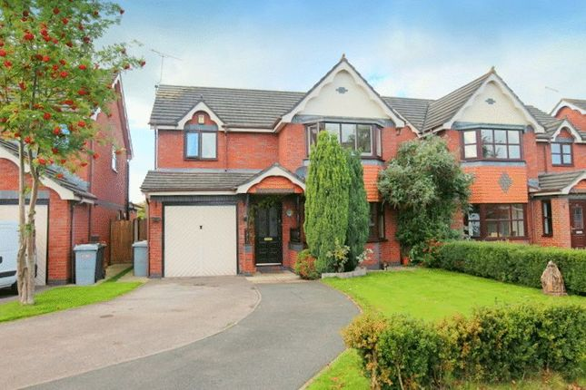 Thumbnail Detached house for sale in The Orchards, Shavington, Crewe