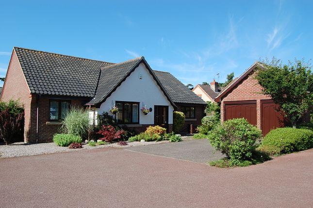 Thumbnail Detached bungalow for sale in Saxon Way, Melton, Woodbridge