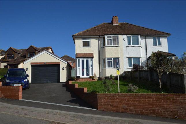 Thumbnail Semi-detached house for sale in Beacon Heath, Exeter, Devon