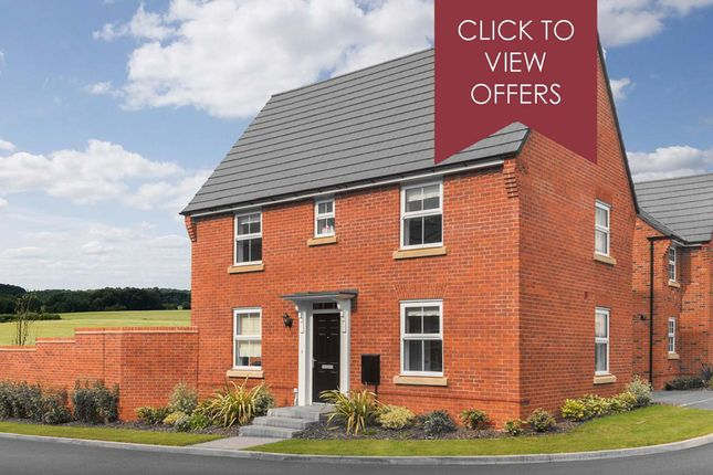 """Thumbnail Detached house for sale in """"Hadley"""" at Shrewsbury Court, Upwoods Road, Doveridge, Ashbourne"""