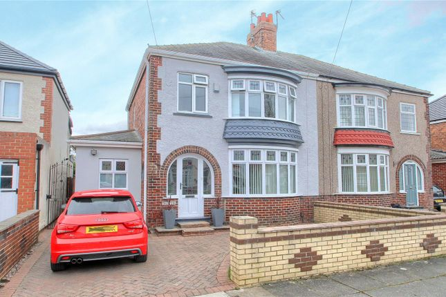 3 bed semi-detached house for sale in Del Strother Avenue, Stockton-On-Tees TS19