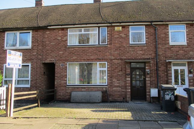 Thumbnail Town house to rent in New Parks Boulevard, Leicester