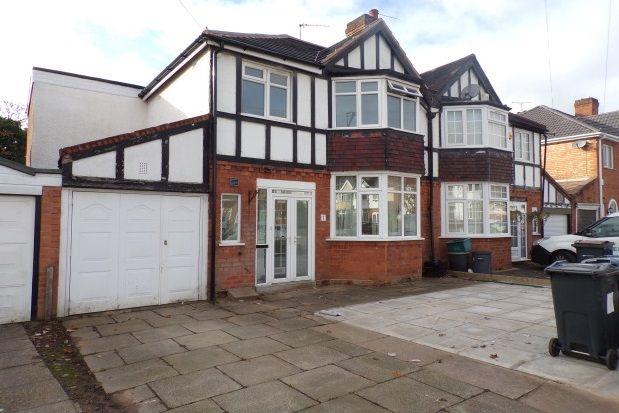 Thumbnail Property to rent in Barton Lodge Road, Birmingham