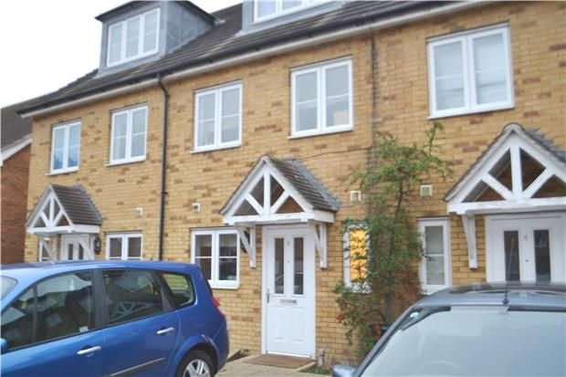 Thumbnail Terraced house to rent in Bushy Close, Romford