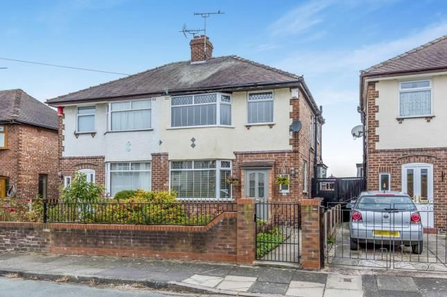 Semi-detached house for sale in Newfield Drive, Crewe, Cheshire