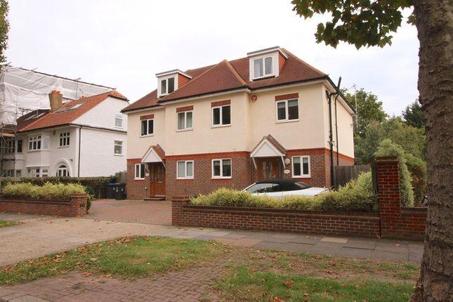 Thumbnail Semi-detached house for sale in Elgar Avenue, Surbiton, Surrey