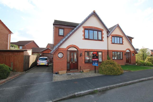 Thumbnail Detached house for sale in Berrybrook Meadow, Exminster, Exeter