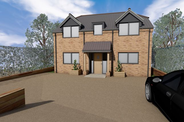 Thumbnail Detached house for sale in Station Road, Leziate, King's Lynn