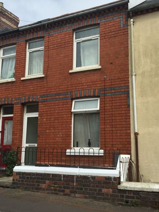 3 bed terraced house for sale in Bruce Street, Roath, Cardiff