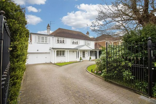 Thumbnail Detached house for sale in Forest Lane, Chigwell