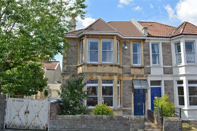 Thumbnail Semi-detached house for sale in Seymour Road, Bishopston, Bristol