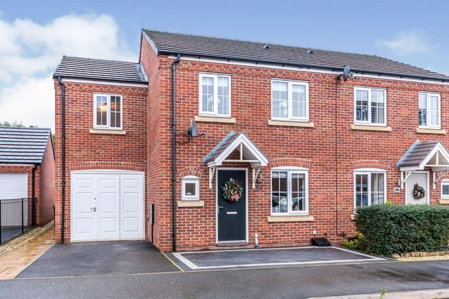 3 bed semi-detached house for sale in Rudyard Way, Cannock WS11