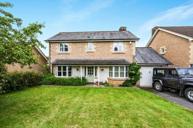 Thumbnail Detached house for sale in South Horrington, Wells, Somerset